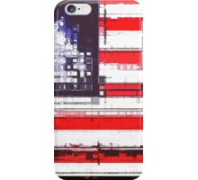 American Flag Abstract iPhone Case/Skin