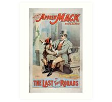 Performing Arts Posters The singing comedian Andrew Mack in the The last of the Rohans by Ramsay Morris 1113 Art Print