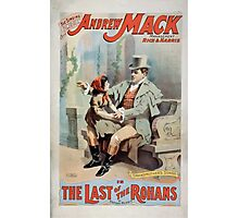 Performing Arts Posters The singing comedian Andrew Mack in the The last of the Rohans by Ramsay Morris 1113 Photographic Print