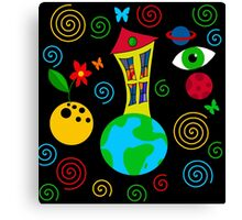 Playful universe  Canvas Print