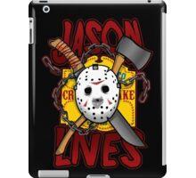 Jason Lives  iPad Case/Skin