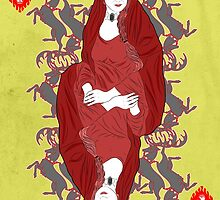 GAME OF THRONES QUEEN MELISANDRE by jozvoz