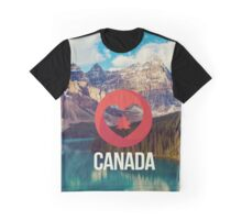 Canada Nature Graphic T-Shirt