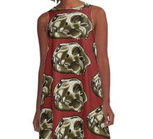 Lion Skull A-Line Dress
