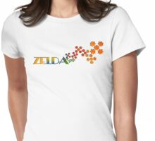 The Name Game - Zelda Womens Fitted T-Shirt
