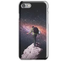 Space tourist iPhone Case/Skin