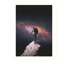 Space tourist Art Print