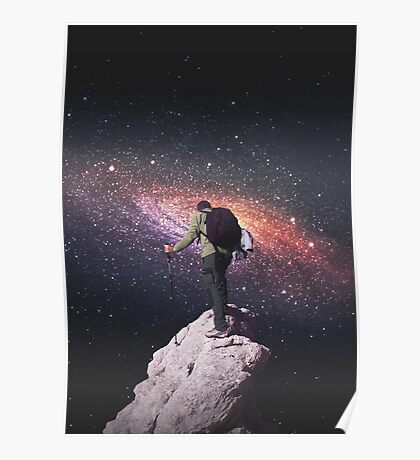 Space tourist Poster