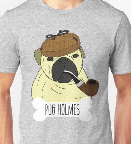 PUG HOLMES Unisex T-Shirt