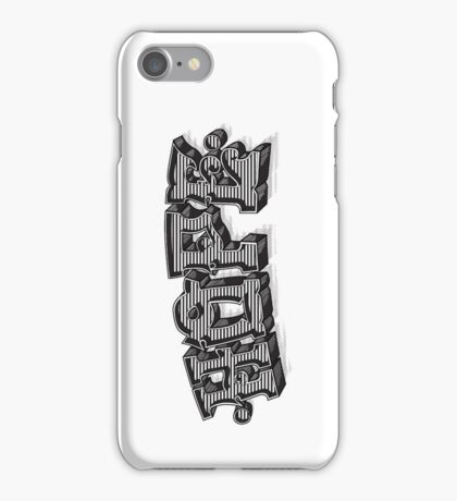 'Hope' Traditional Typography Vertical iPhone Case/Skin