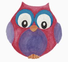 Elwood the curious little owl One Piece - Short Sleeve