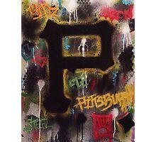 Pittsburgh Grunge Photographic Print