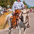 Trout Creek Huckleberry Festival Parade 2014 by Bryan D. Spellman