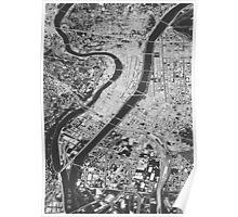 Lyon, wireframe Poster