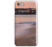 urban sand beach early in the morning iPhone Case/Skin