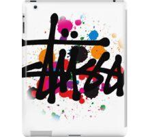 STUSSY edition BRUSH COLORS - RANGE iPad Case/Skin