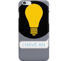 idea iPhone Case/Skin