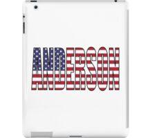 Anderson (USA) iPad Case/Skin