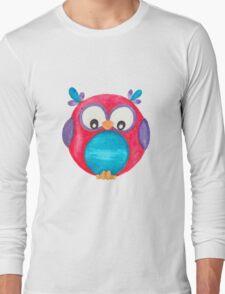 Pipsie the cute little owl Long Sleeve T-Shirt