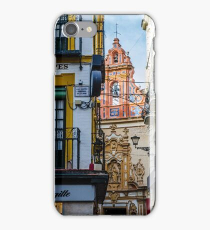 Streets of Seville - Colors of Spain iPhone Case/Skin