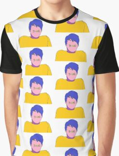Pop Art Dan Howell Danisnotonfire - Multicoloured Graphic T-Shirt