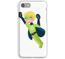 Cute little superhero boy support recycling iPhone Case/Skin