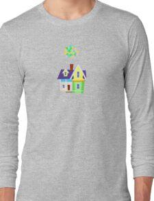 Minimalist Up! House Long Sleeve T-Shirt