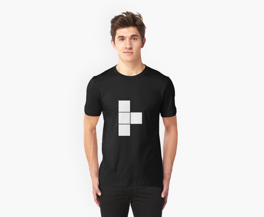 T Tetromino (the Tetris serie) by Sylvere