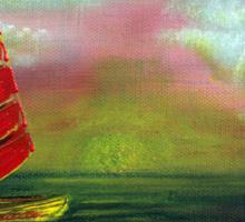 Sail The Horizon Sticker