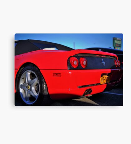 Super Car RED Canvas Print