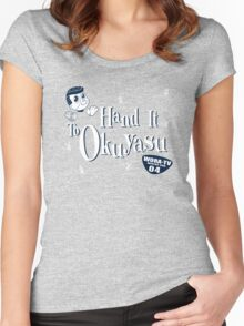 Hand It to Okuyasu! Women's Fitted Scoop T-Shirt