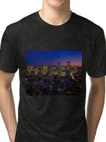 San Francisco California Tri-blend T-Shirt