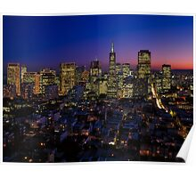 San Francisco California Poster