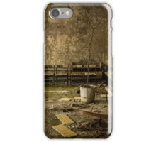 Chernobyl Hospital Waiting Room iPhone Case/Skin