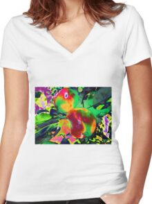 The Temptation Women's Fitted V-Neck T-Shirt
