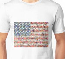 Stars and Stripes - Digital Unisex T-Shirt