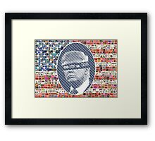 God Save the Stars and Stripes Framed Print