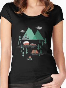 Pitch a Tent Women's Fitted Scoop T-Shirt