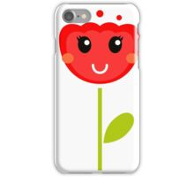 Cute colorful tulips. This is authors Illustration. iPhone Case/Skin