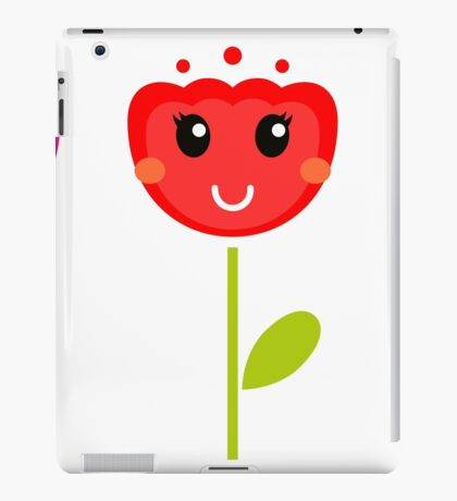 Cute colorful tulips. This is authors Illustration. iPad Case/Skin
