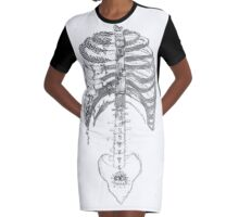 Lungs Full of Life Graphic T-Shirt Dress