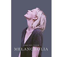 melancholia   alternative movie poster Photographic Print