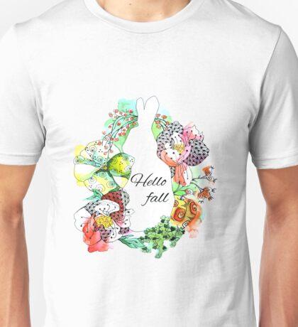 hello fall Unisex T-Shirt