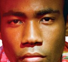 Childish Gambino's Because The Internet album cover Sticker
