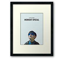 midnight special   alternative movie poster Framed Print