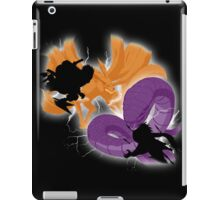 ninja fight iPad Case/Skin