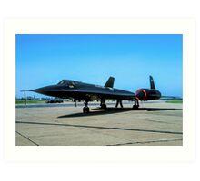"Lockheed SR-71A 64-17974 ""Blackbird"" Art Print"
