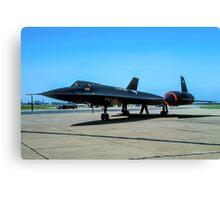 "Lockheed SR-71A 64-17974 ""Blackbird"" Canvas Print"