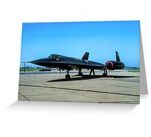 "Lockheed SR-71A 64-17974 ""Blackbird"" Greeting Card"