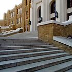 Steps Of Central High by WildestArt